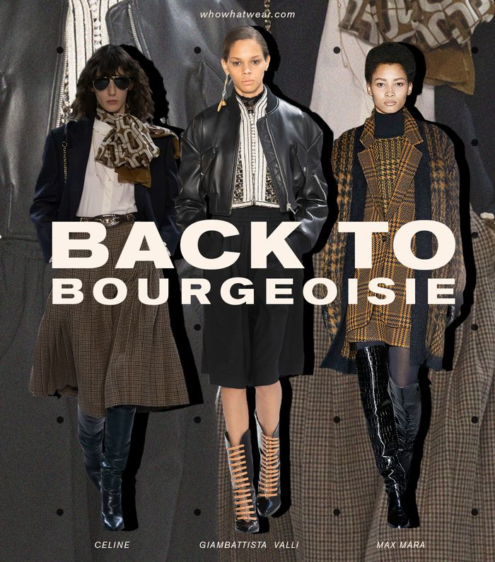 Fall Trend Shopping Guide — Bourgeoisie