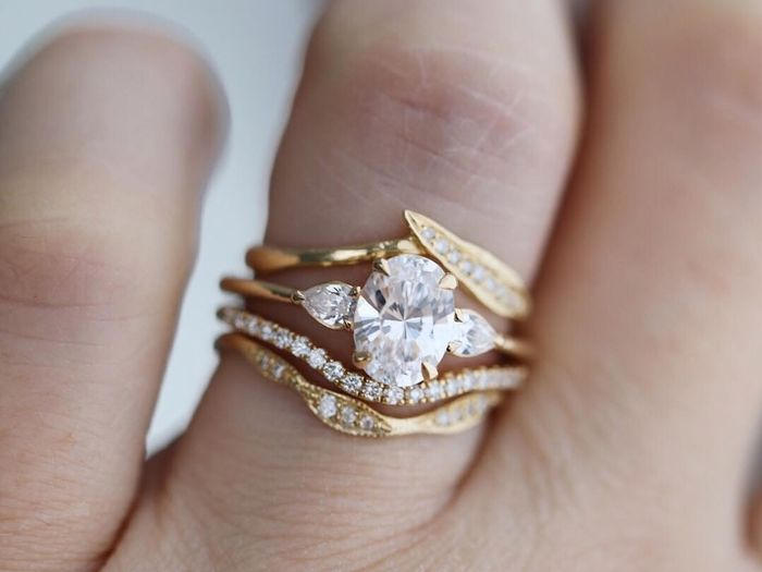 The Prettiest Three-Stone Engagement Rings to Shop