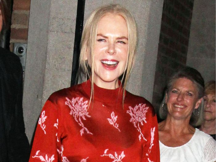 Nicole Kidman's Fancy Flats Are So Chic