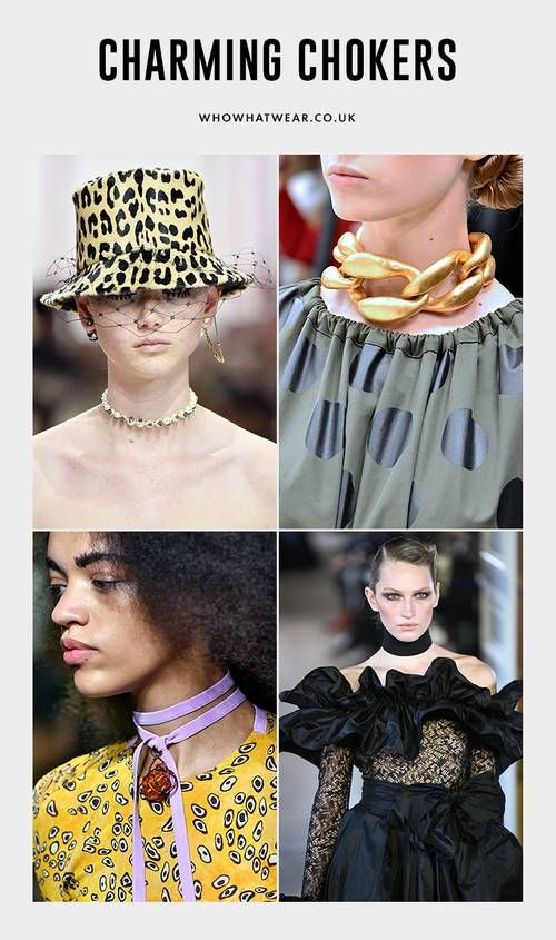 Best Choker Necklaces: Choker necklaces were a big deal on the autumn/winter 2019 catwalk