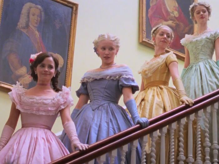 Emma Watson's Little Women Costume Is Giving Us Major Yule Ball Feels