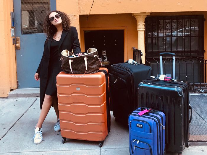 I Cut My Wardrobe in Half to Move From L.A. to NY—Here's How I Did It