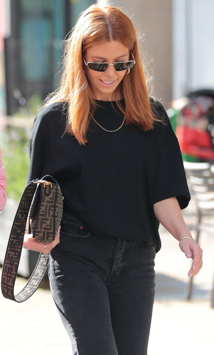 I M Obsessed With These 4 Stacey Dooley S Minimal Outfits Who What Wear