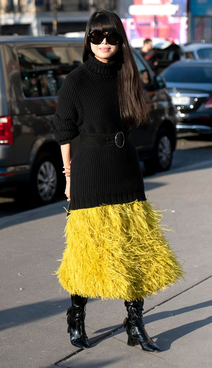 Fall feather trend