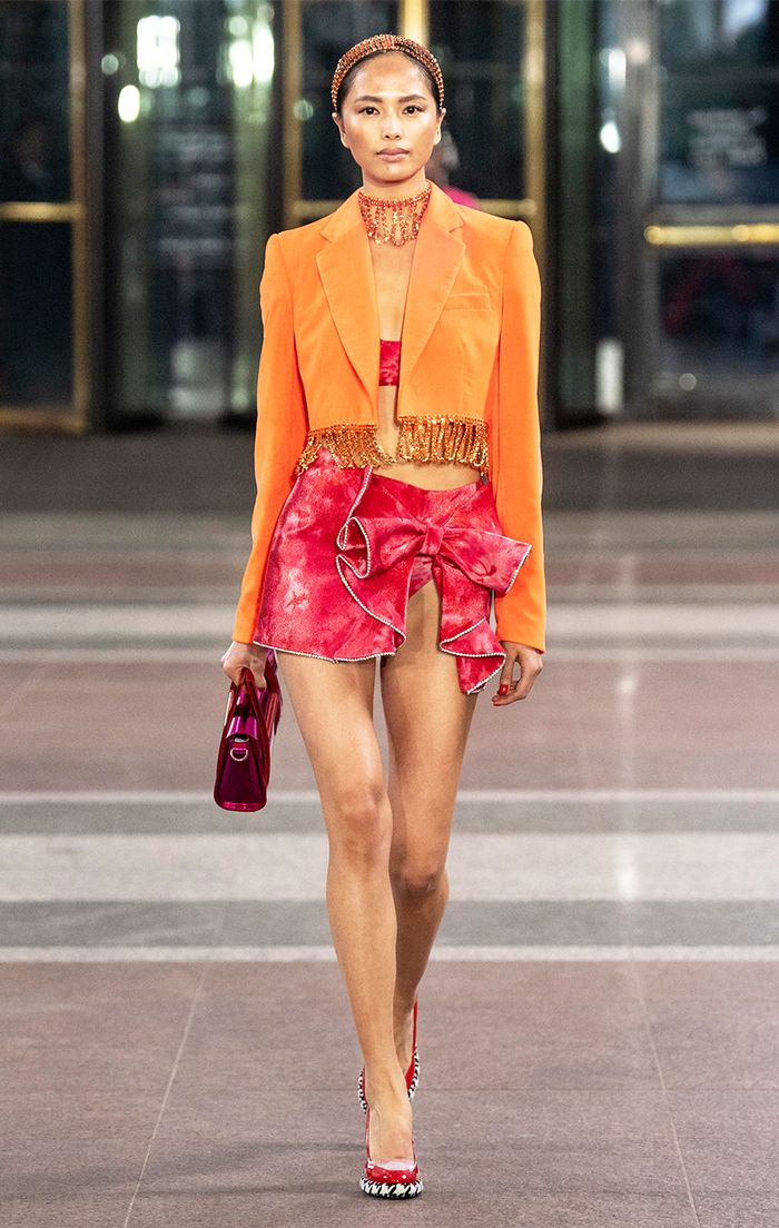Orange and Pink Color Combination Fall 2019