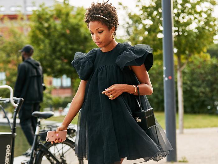 Black Mini Dress Street Style