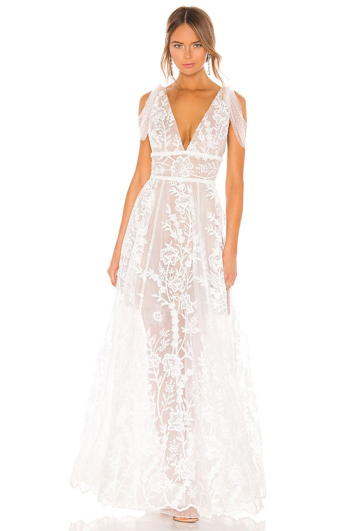20 Affordable Wedding Dresses That Look So Expensive Who What Wear,Flowy Dresses For Wedding Guest