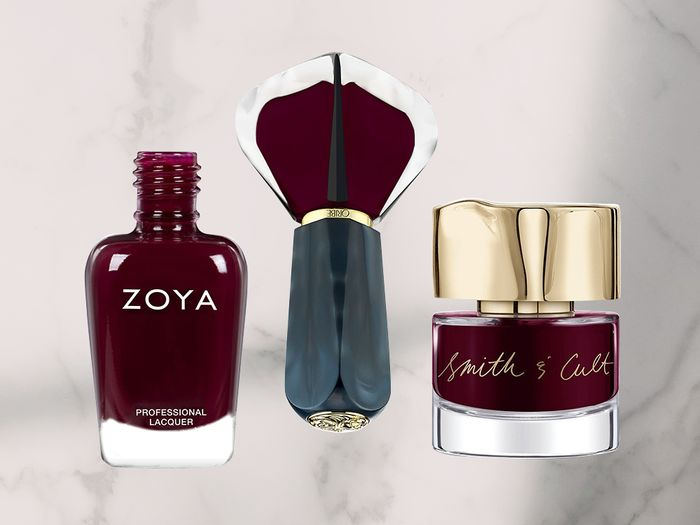 FYI: These Are the 10 Best Burgundy Nail Polishes of All Time