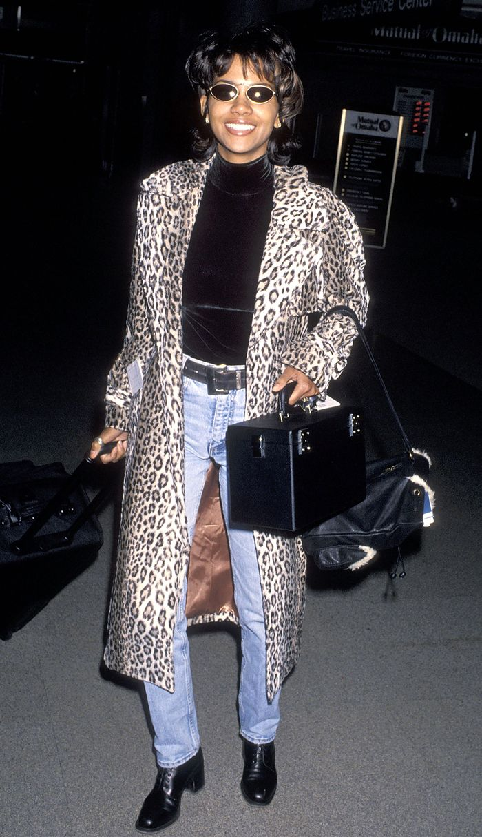 90s Fall Outfits Halle Berry