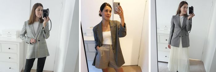 I Tried On the 5 Best-Selling Blazers on Who What Wear—Here's How I Styled Them
