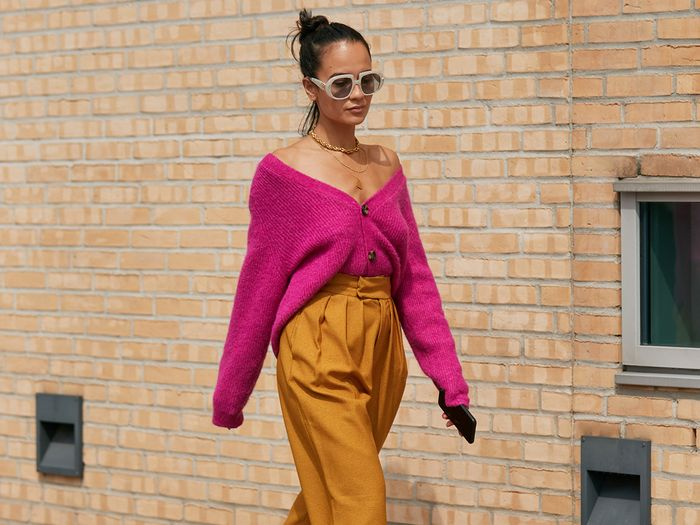 Copenhagen Street Style Hot Pink