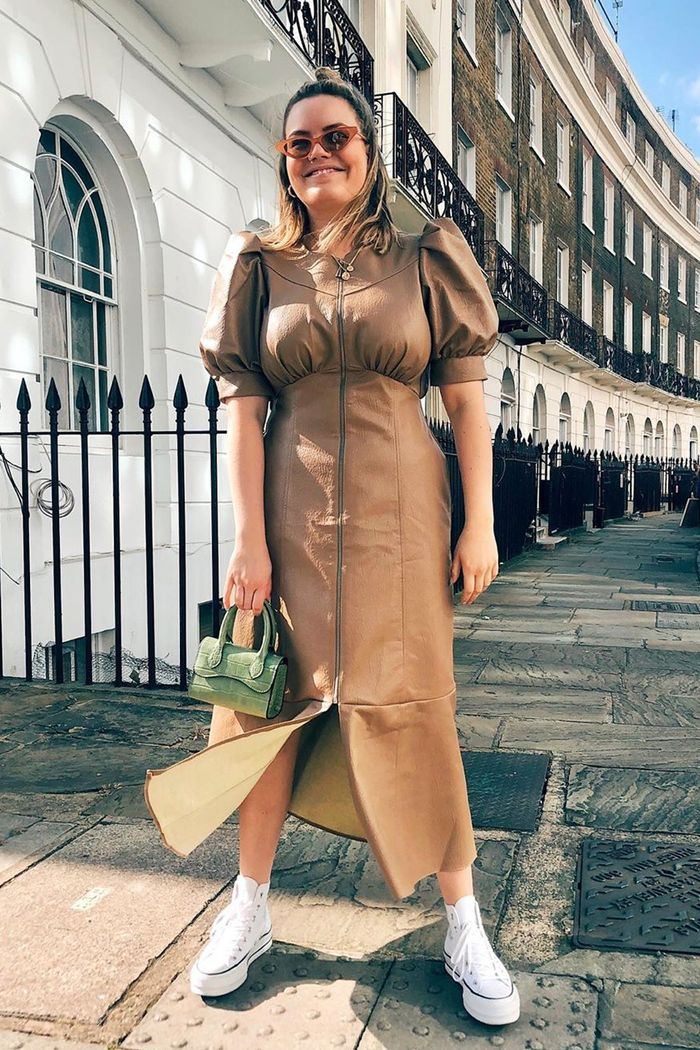 ASOS autumn trends 2019: Lotte in ASOS dress