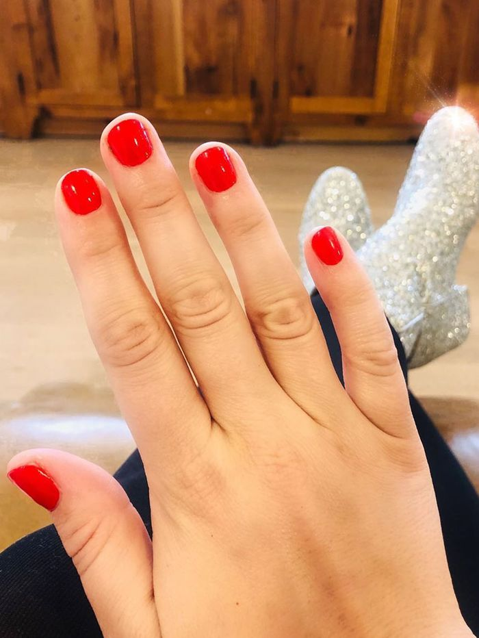 Halloween Nail Colors: Red