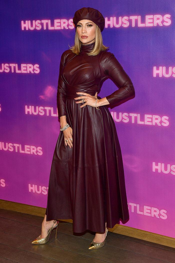 Jennifer Lopez Hustlers photo call