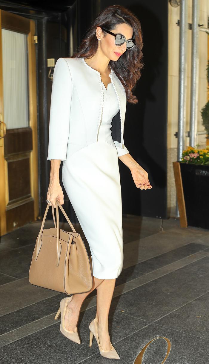 Amal Clooney handbag