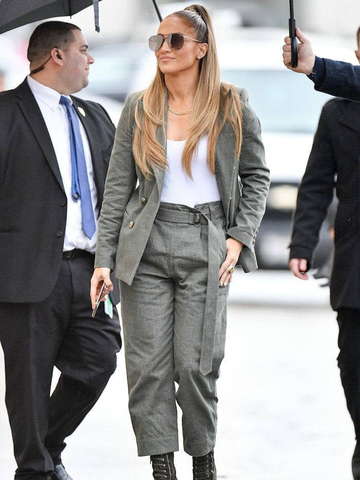 The Jennifer Lopez Capsule Wardrobe In Only 6 Pieces Who What Wear