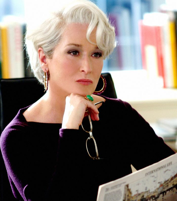 Miranda Priestly fashion tips in The Devil Wears Prada
