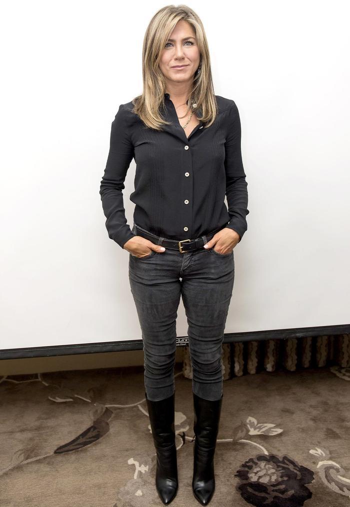 Jennifer Aniston Leather Boots