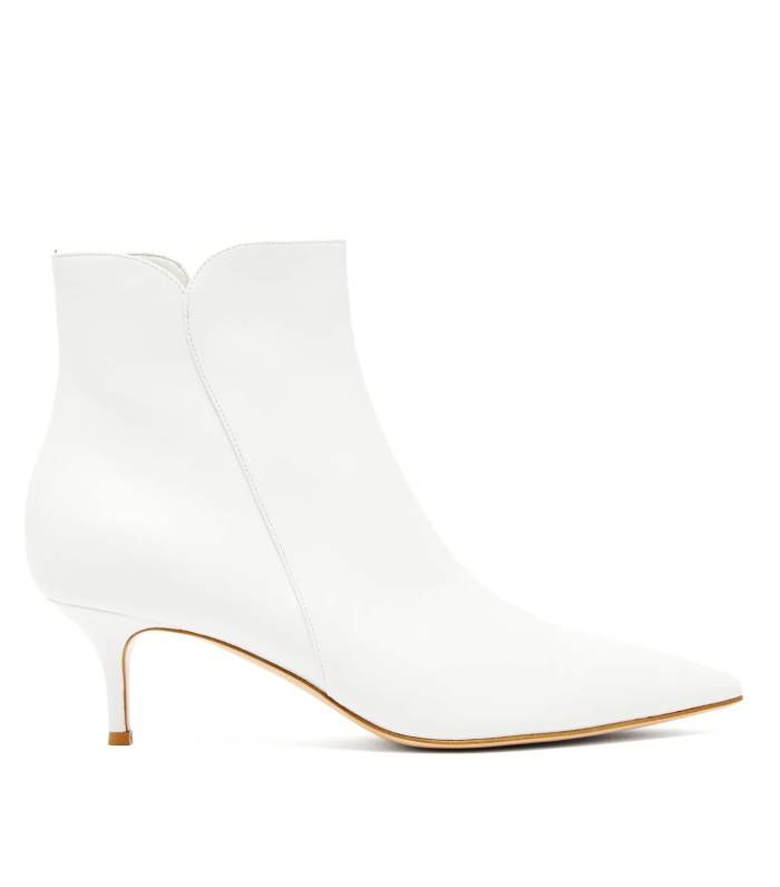 The Best White Ankle Boots for Women