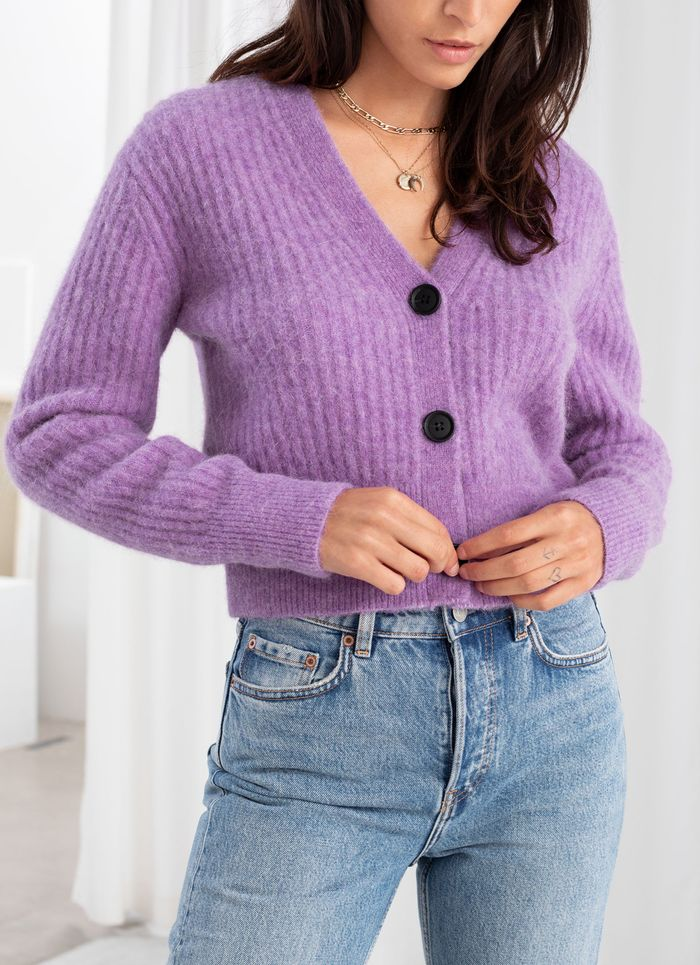 & Other Stories Wool-Blend Cardigan