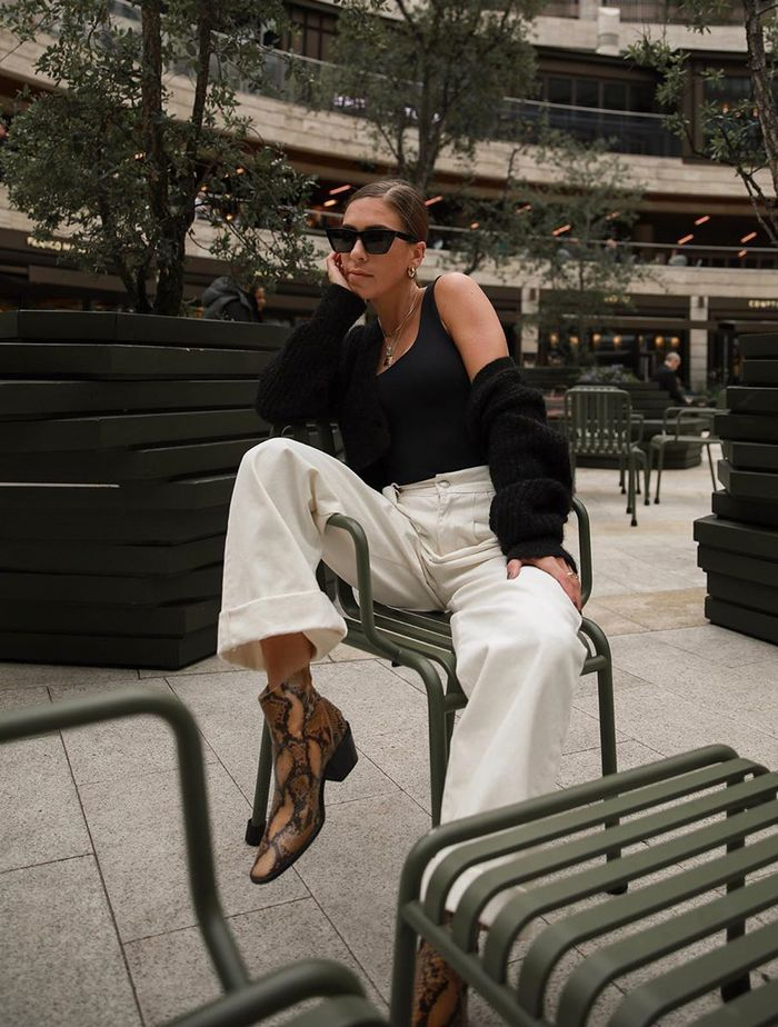 Autumn Shopping Picks: Jessica Skye in a monochrome outfit