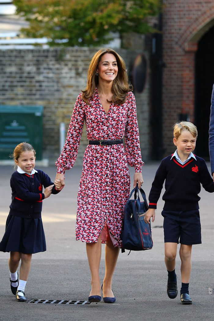 Kate Middleton school run style: Michael Kors floral dress