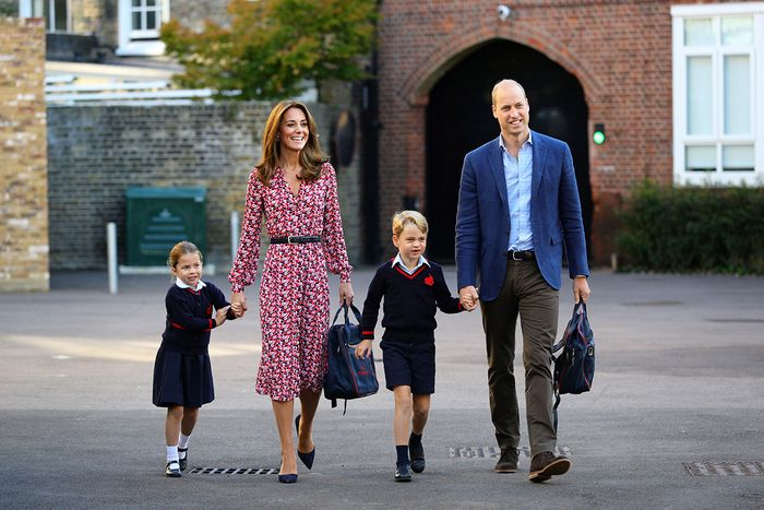Princess Charlotte and Prince George first day of school
