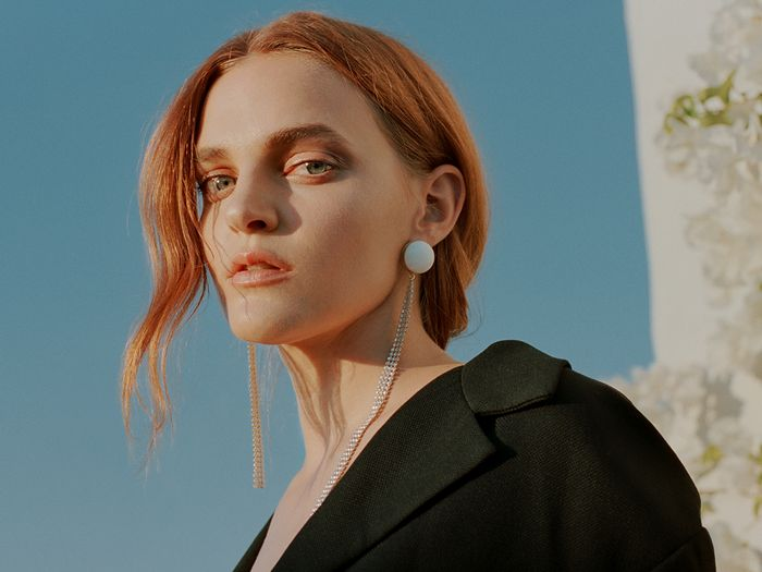 Madeline Brewer Test-Drives Some of the Season's Coolest Coats