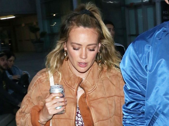 Hilary Duff Wore the Cozy Free People Jacket You'll Want in All 7 Colors