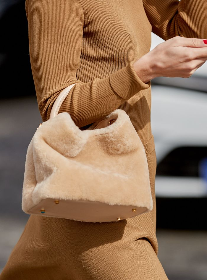 Elleme shearling bag