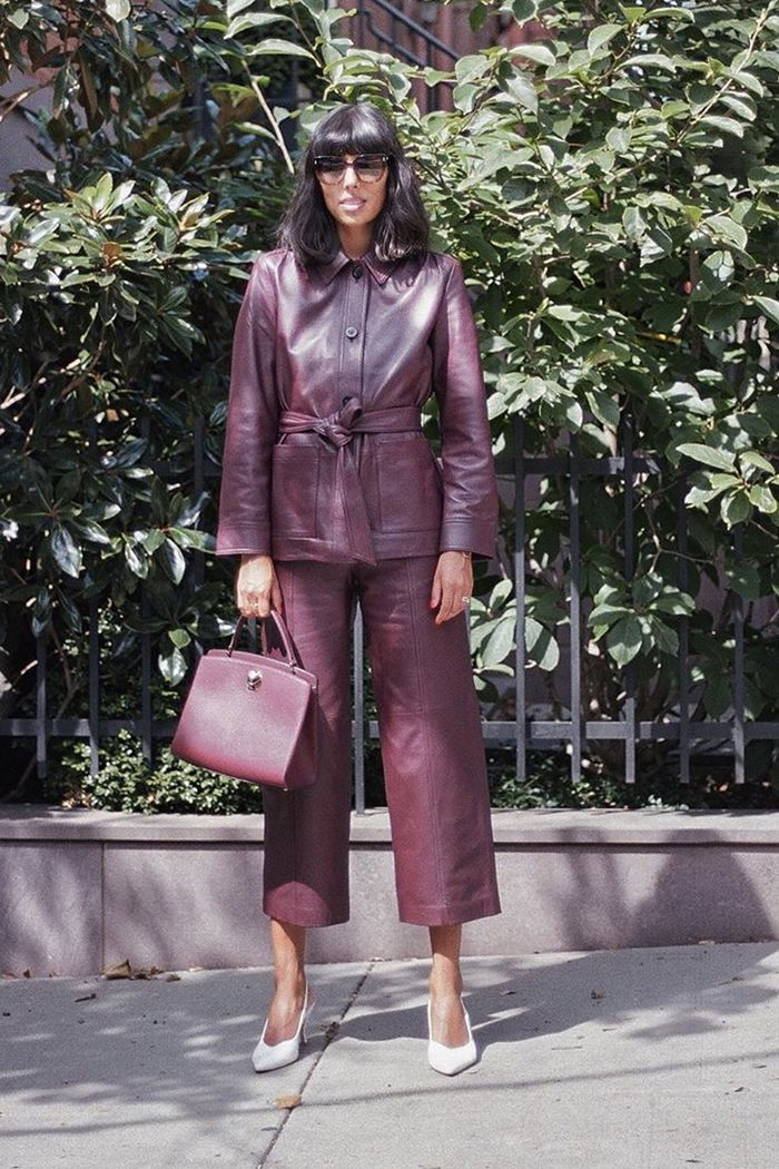 Leather fashion trend 2019: Leather trousers