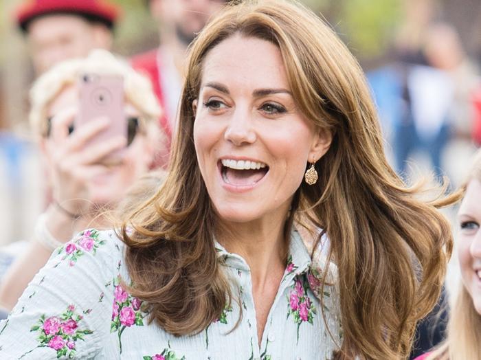 Kate Middleton Wore Wedges
