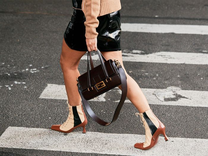 Manu Atelier Boots Street Style NYFW