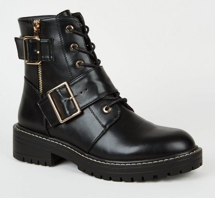 These High Street Stores Stock The Best Women S Biker Boots Who What Wear