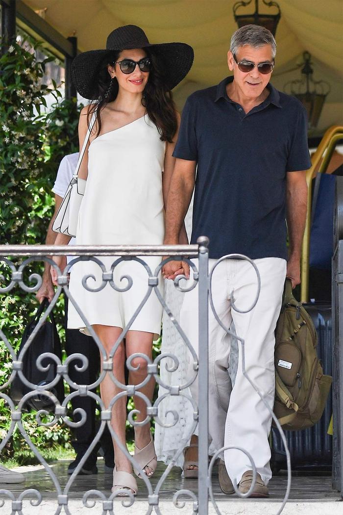 Amal Clooney Beige Sandals