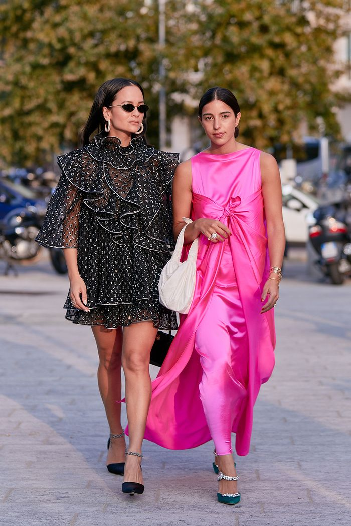 Milan fashion week street style spring 2020
