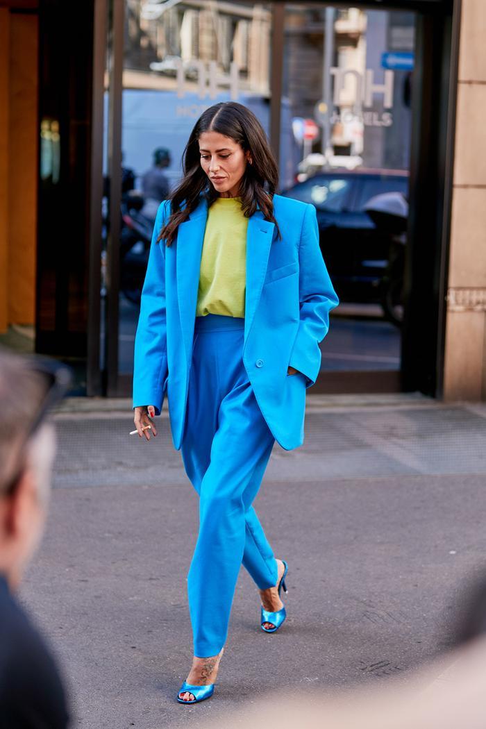 Street Fashion 2020.See The Latest Milan Fashion Week Street Style Spring 2020