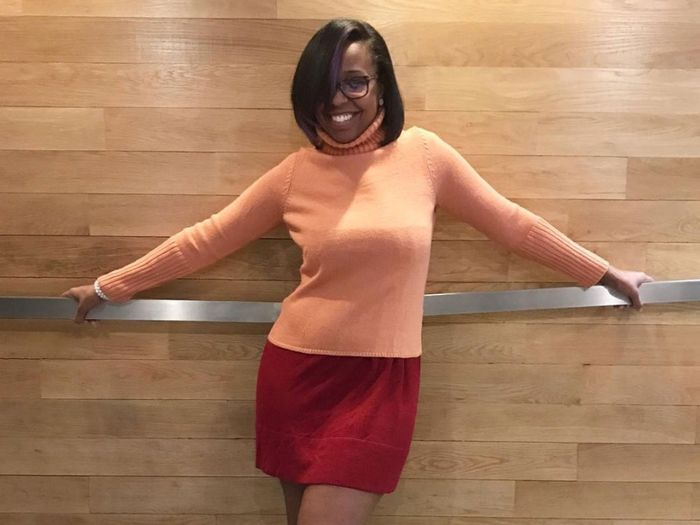 Halloween costumes in your 30s—Velma Dinkley