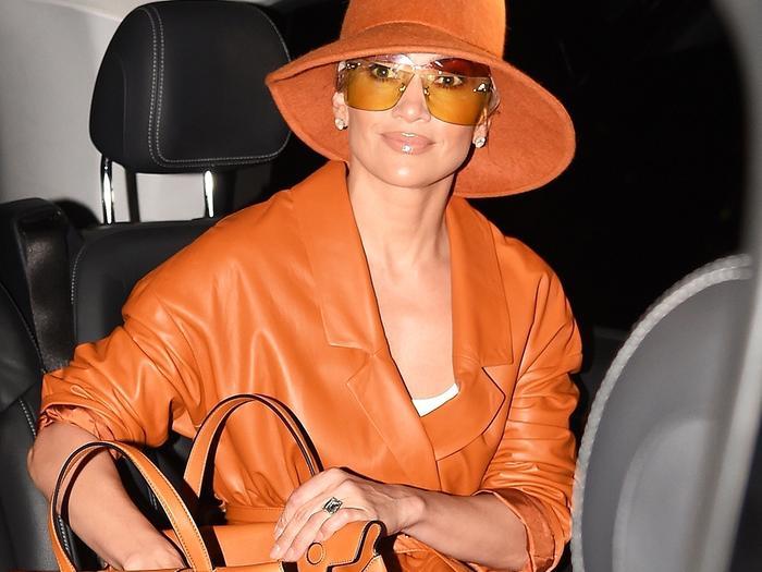 Jennifer Lopez hat
