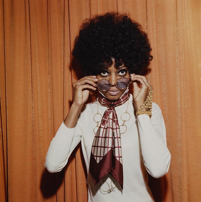 Diana Ross Halloween makeup