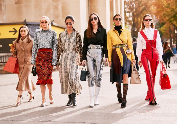 Paris Fashion Week street style trends spring 2020