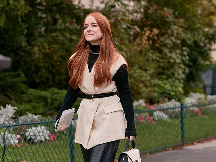 The Leather-Pants Outfits That Are All Over Paris