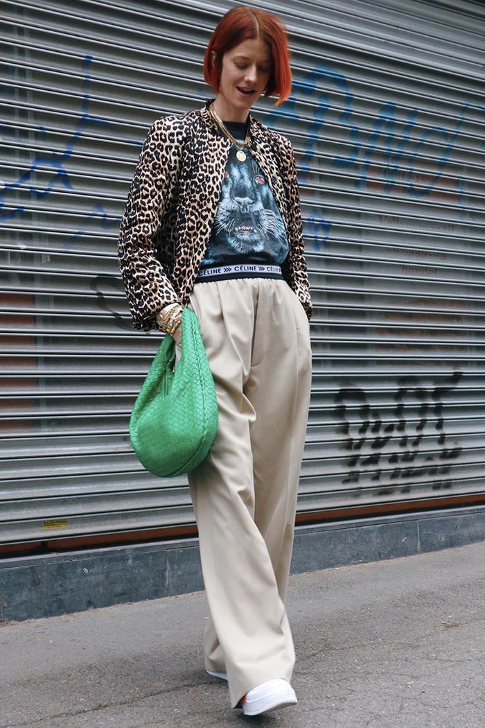 Best leopard print jackets: Marianne Theordsen