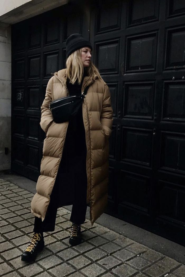 Best quilted coats: Alexis Foreman