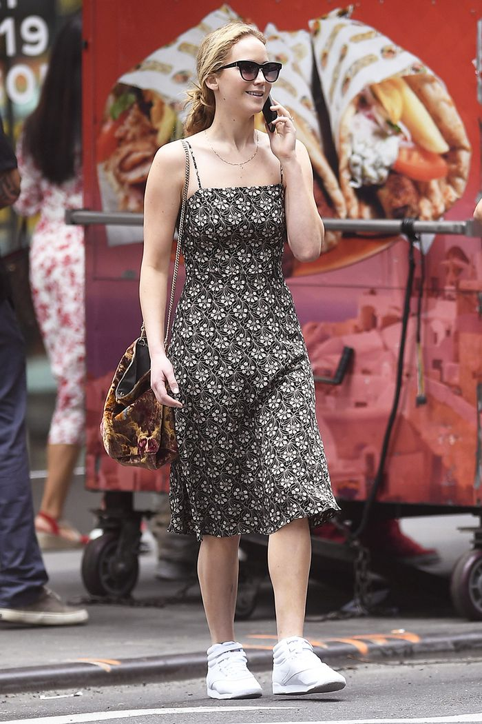 Jennifer Lawrence sneakers