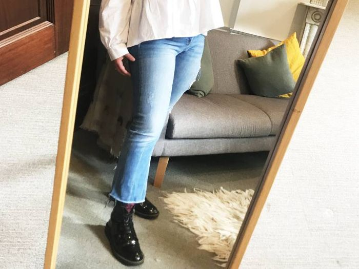 """I'm 5'3"""" and Think Zara's Jeans Are the Best on the High Street"""