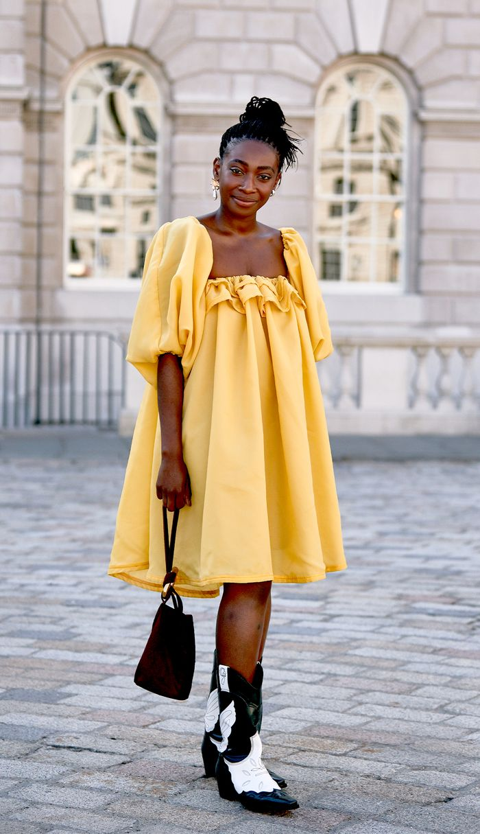 The Dress Trend Everyone Will Wear With Boots in a Matter of Days