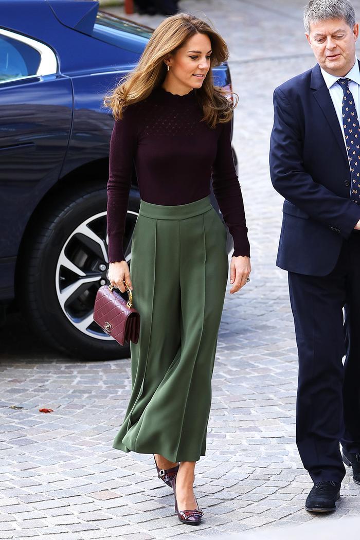Kate Middleton culottes