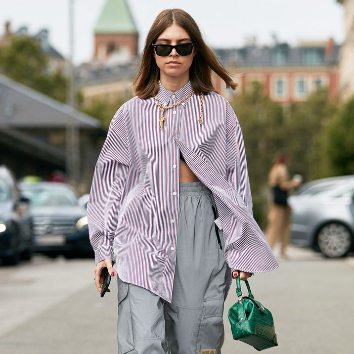 """The New Way Fashion Girls Are Styling This """"Boring"""" Basic"""