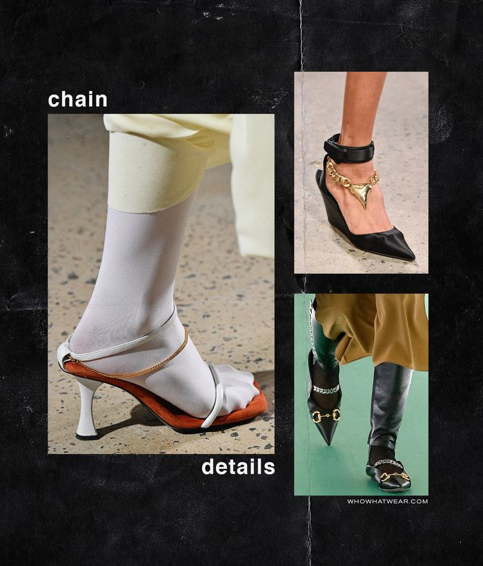Spring, Summer Shoe Trends 2020: Chain